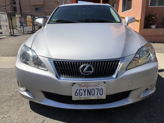2009 LEXUS IS250 SILVER