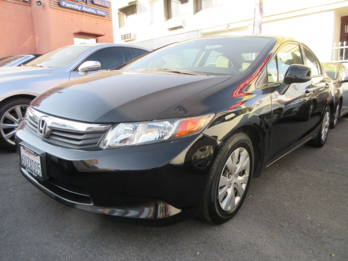 2012년  Honda Civic LX