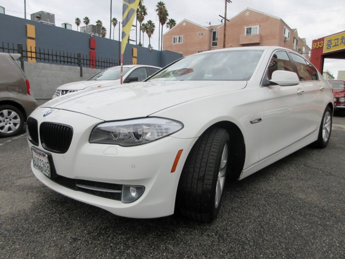 2012 BMW 528i 4-Cyl, Turbo, 2.0 Liter
