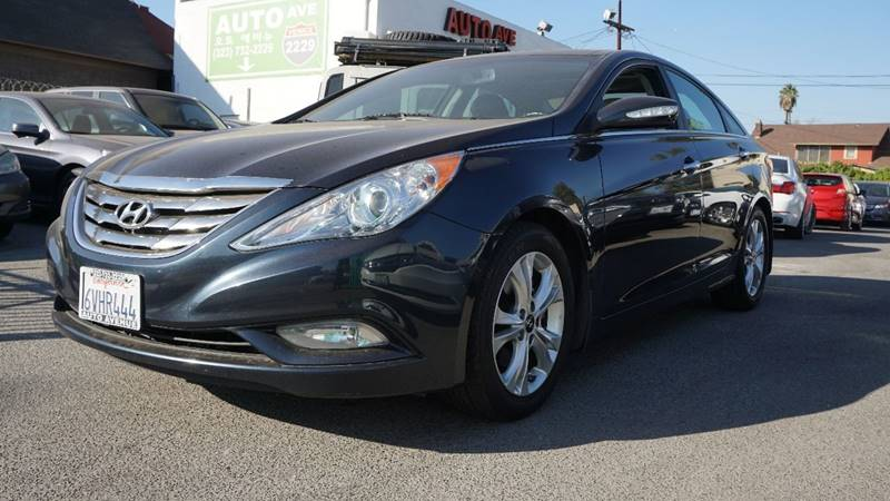 2012 Hyundai Sonata Limited 4dr Sedan 6A