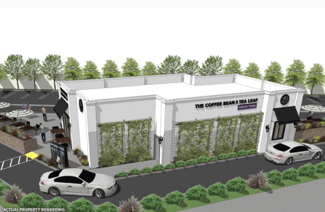 New Single Tenant - Coffee Bean Tea Leaf (Drive -Thru)