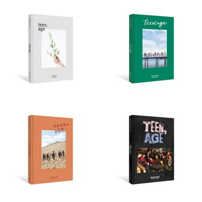 "[Seventeen] 2nd Album ""TEEN, AGE"" (4 Versions Available) + 1 Random Photo Card"