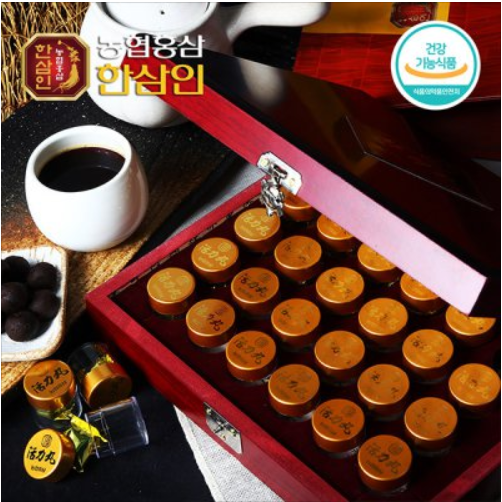 Nonghyup Hansamin vitality 3.75g 30pieces Chuseok Red Ginseng Capsules